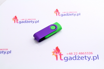 Zielony pendrive twister, 4GB