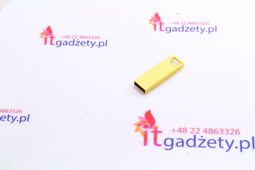 Złoty USB do graweru